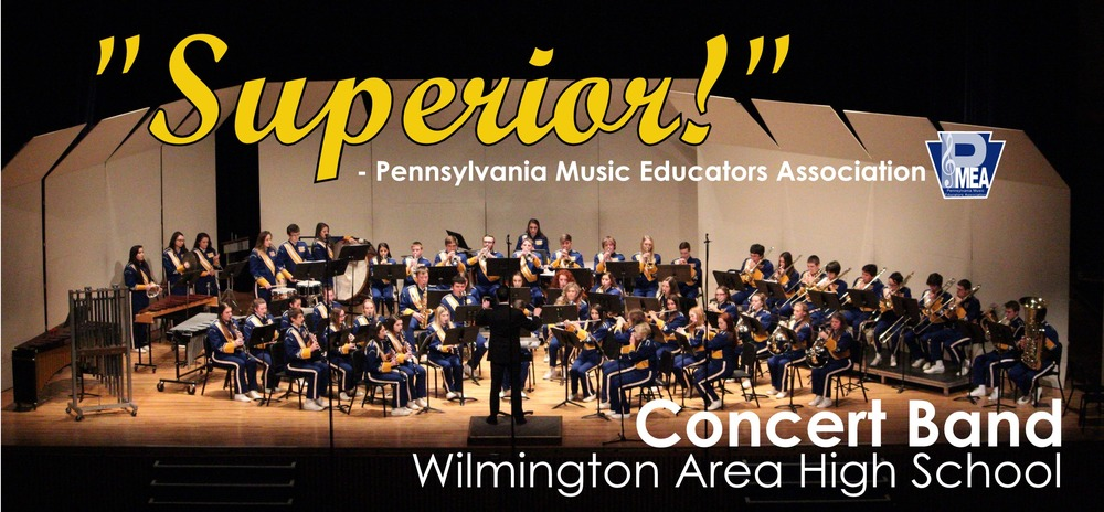 High School Concert Band Achieves Highest Possible Rating