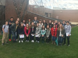 Wilmington Students Attend English Festival