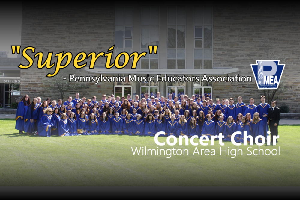Choir Receives Highest Possible Ratings