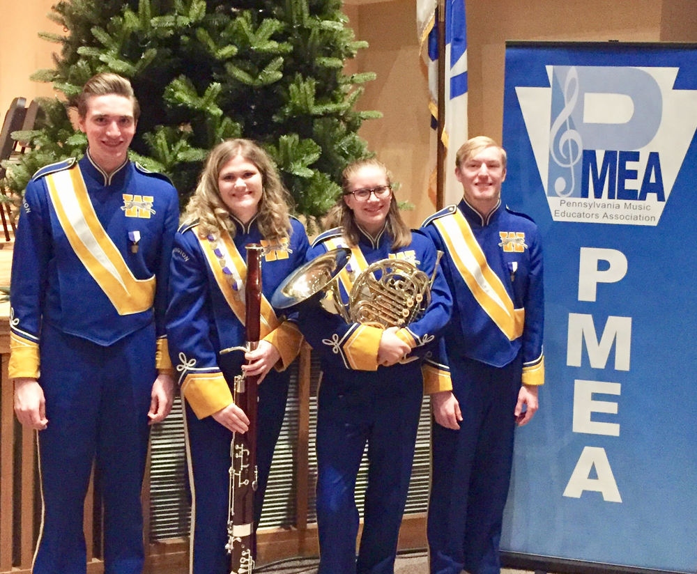 Students Attend Honors Band Festival