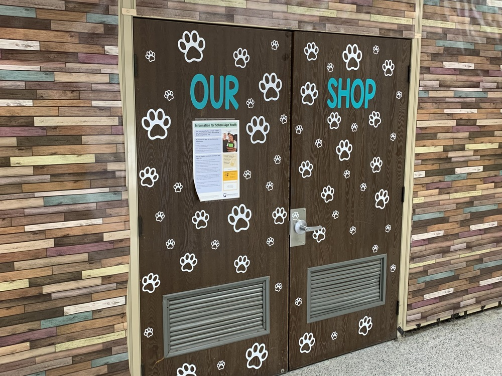 "Our School Helping Our People  ""Our SHOP"""