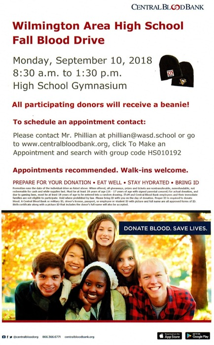Fall Blood Drive Poster