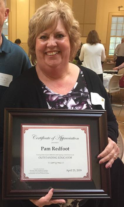 Redfoot - Outstanding Educator Award