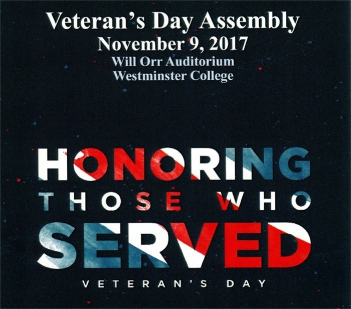 Veteran's Day Assembly Poster