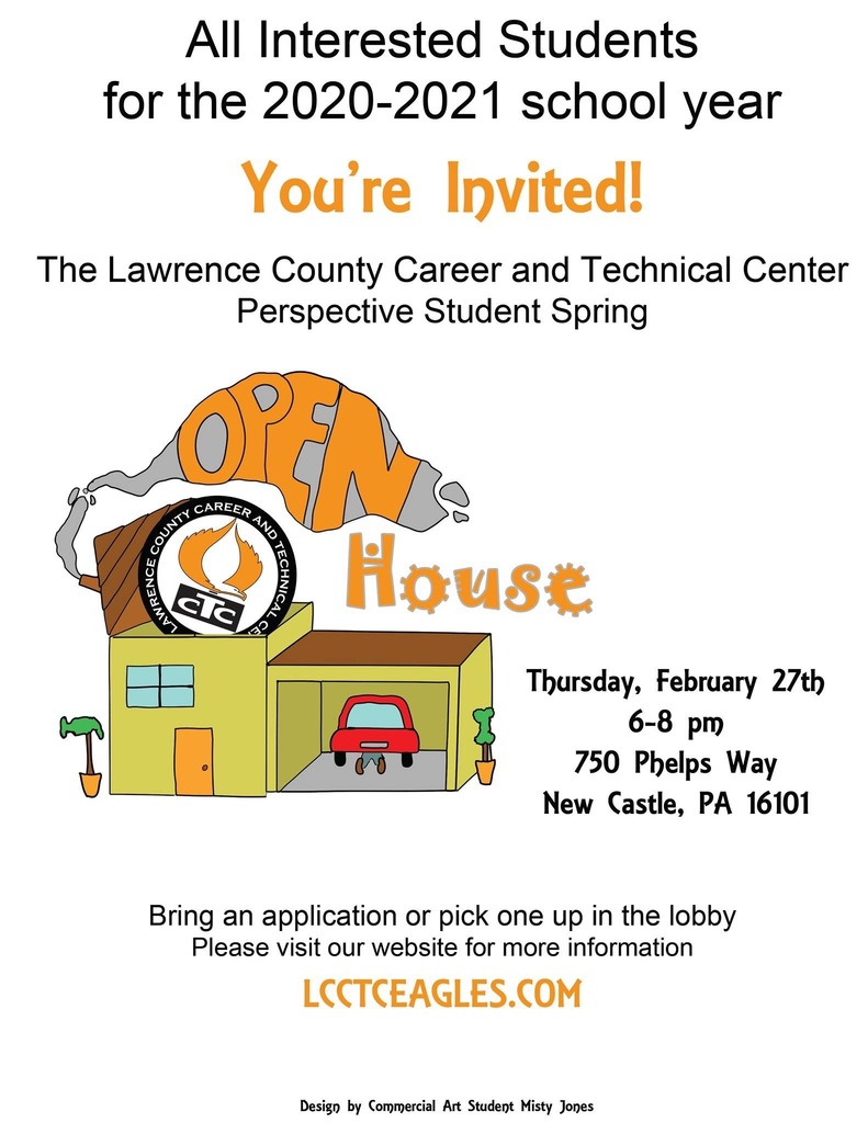 LCCTC Open House Flyer