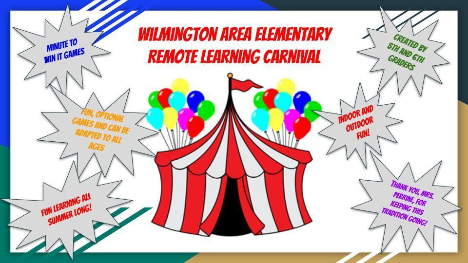 Remote Learning Carnival